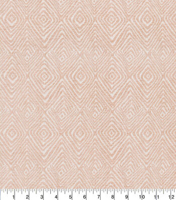 Kelly Ripa Home Upholstery Fabric 54''-Blush Set In Motion
