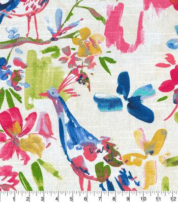 Kelly Ripa Home Upholstery Fabric 54''-Confetti Flora Flaunt