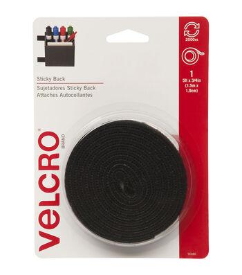 VELCRO® Brand 0.75'' x 5' Sticky Back Fastener