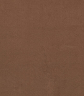 """Crypton Upholstery Fabric 54""""-Smart Suede Coffee"""