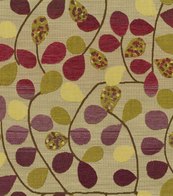 "Richloom Studio Multi-Purpose Decor Fabric 55""-Bayberry Mulberry"