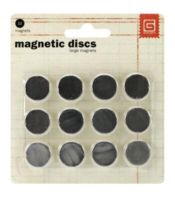 "Magnetic Discs .625"" 12/Pkg-1/32"" Thick"