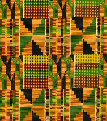 Ethnic Cloth Fabric 43''-African Kente