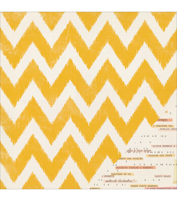 "Maggie Holmes Open Book Double-Sided Cardstock 12""X12""-Little Notes"