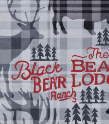 "Snuggle Flannel Fabric 43""-Wilderness Lodge"