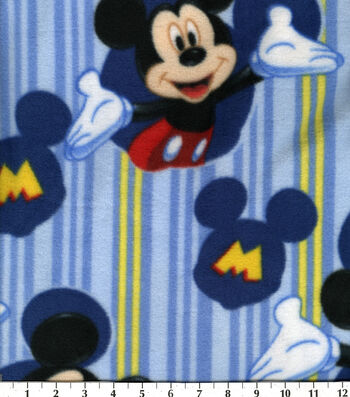 "Disney® Mickey Mouse Fleece Fabric 60""-Framed"
