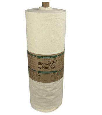 The Warm Company Warm & Natural® Cotton Batting 45''x40 yds