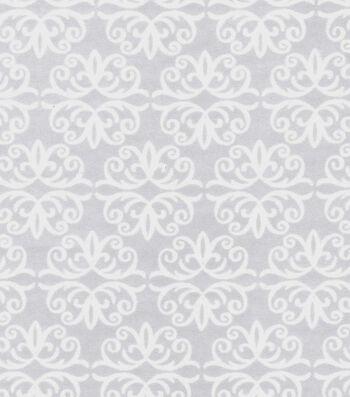 "Magic Moon Flannel Fabric 43""-Flora & Fauna Flake"