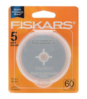 Fiskars Rotary Cutter Blade Refills-60mm 5/Pkg