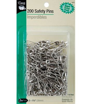 Prym Dritz Safety Pins Super Value Pack Size 2
