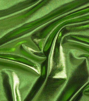"Cosplay by Yaya Han 4-Way Metallic Fabric 59""-Metallic Lime"