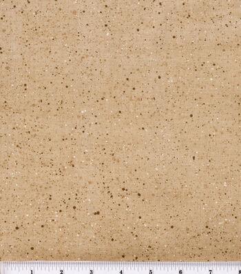"Keepsake Calico™ Cotton Fabric 44""-Gravel Tan"