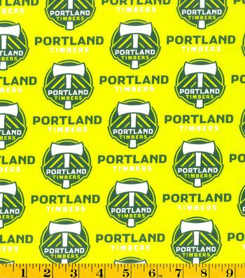 "Portland Timbers Cotton Fabric 58""-Logo"