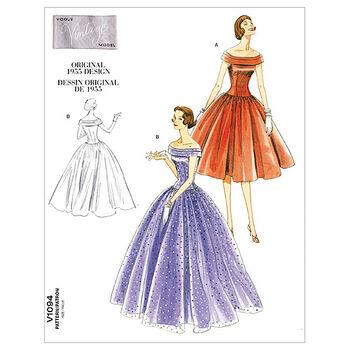 Vogue Patterns Misses Dress-V1094