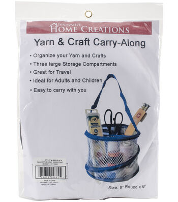 Innovative Home Creations Yarn & Craft Carry-Along 8''x6''