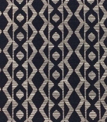 "Azure Collection Jacquard Fabric 54""-Zig Zag"
