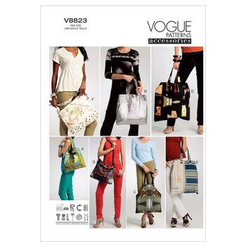 Vogue Patterns Crafts Totes & Bags-V8823