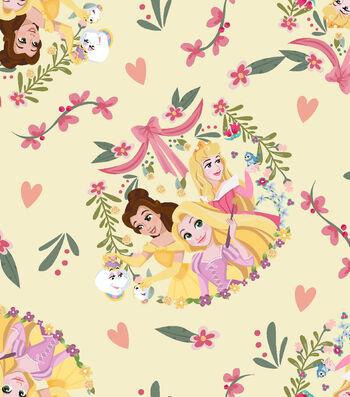 Disney Princess Knit Fabric 58''-Princess Friends