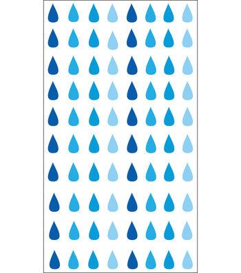 EK Success Sparkler Classic Stickers-Raindrops