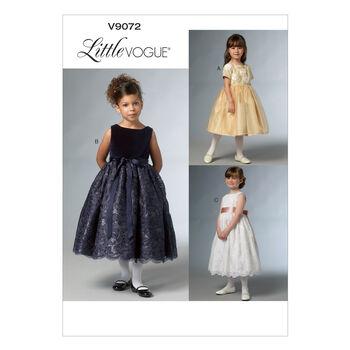Vogue Patterns Child Dress-V9072