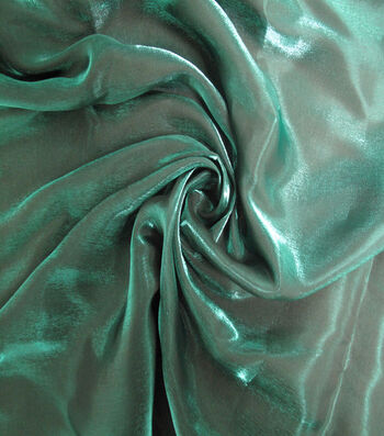 "Casa Embellish Liquid Woven Fabric 57""-Evergreen"