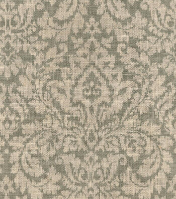 Waverly Dashing Damask Natural Burlap