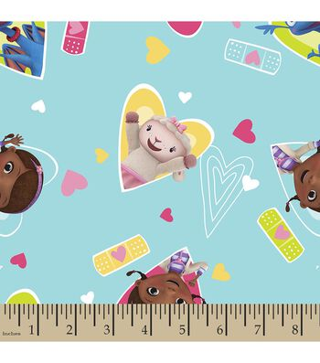 Disney Junior Doc McStuffins Print Fabric