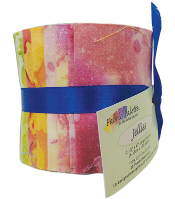 Fabric-Palette Cotton Fabric-Jellies 20/Pkg-Long Road Batik