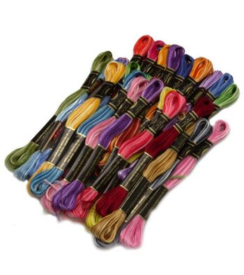 DMC Embroidery Floss Pack 8.7yd-Variegated 36/Pkg
