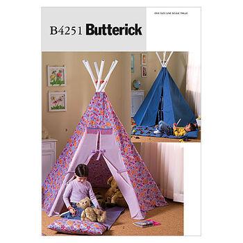 Butterick Pattern B4251 Teepee & Mat