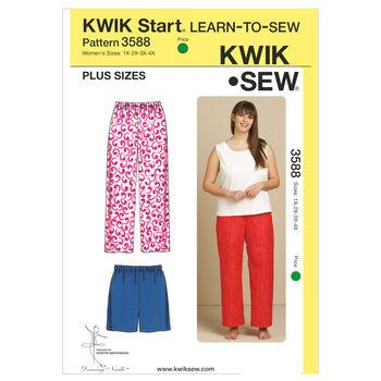 Kwik Sew Womens Sleep & Lounge-K3588