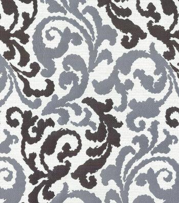 "Kelly Ripa Upholstery Fabric 58""-Graceful Curves Ebony"