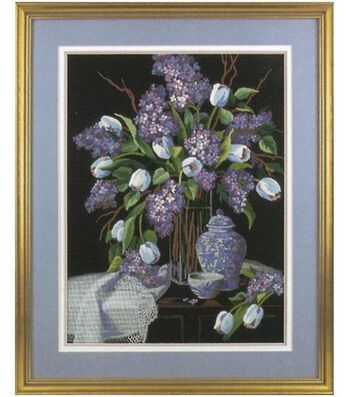 Dimensions Crewel Kit Lilacs And Lace