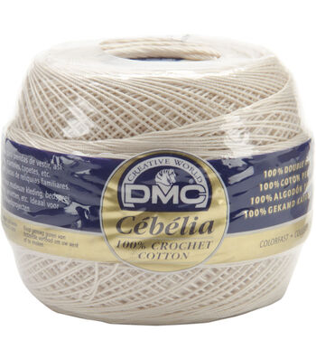 DMC Cebelia Crochet Cotton Thread Size: 20-416yd