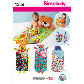 Simplicity Pattern 1389OS One Size -Crafts Crafts