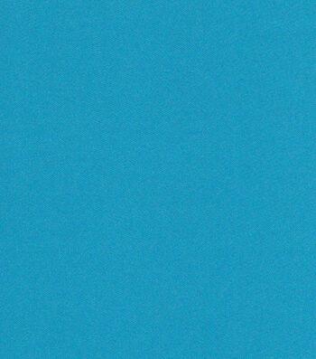"Glitterbug Satin Fabric 45""-Solid Teal"