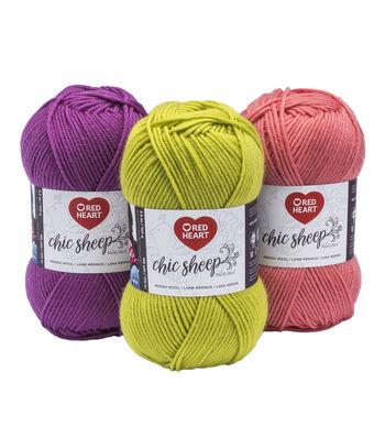 Red Heart® Chic Sheep Merino Wool Yarn