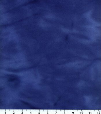 Blizzard Fleece Fabric 59''-Royal Tie Dye