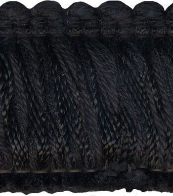 Conso 1-3/4in Black Fringe Brush