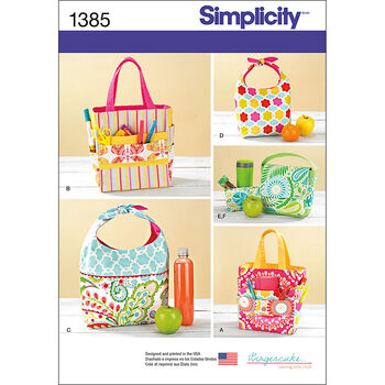 Simplicity Pattern 1385OS One Size -Crafts Accessories