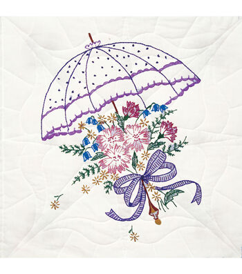 Fairway Stamped Quilt Blocks Umbrella