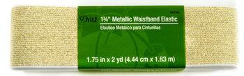 """Dritz 1 3/4"""" Metallic Waistband Elastic 2 Ya"""