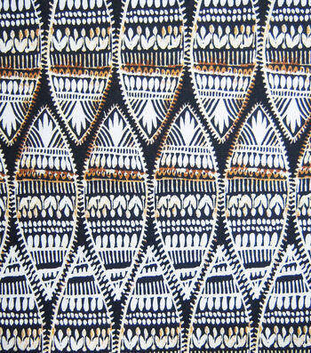 "Novelty Cotton Fabric 45""-Safari Sheilds"