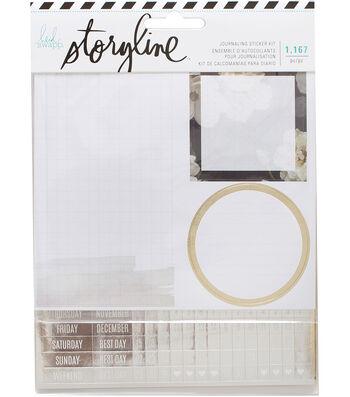 Heidi Swapp Storyline Journaling Stickers-Wedding