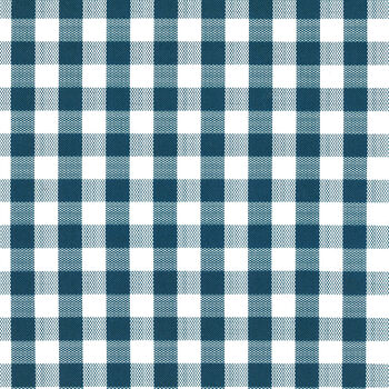 "Tablecloth Vinyl 54""-Gingham Check Navy"