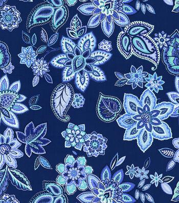 "Waverly Print Fabric 54""-Charismatic/Delft"