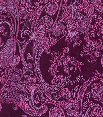 "Cosplay by Yaya Han Brocade Fabric 58""-Purple"
