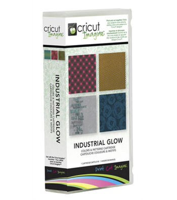 Cricut® Imagine Color & Patterns Cartridge-Industrial Glow
