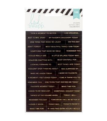 Heidi Swapp Memory Planner Word Stickers 3/Sheets-Word Jumble