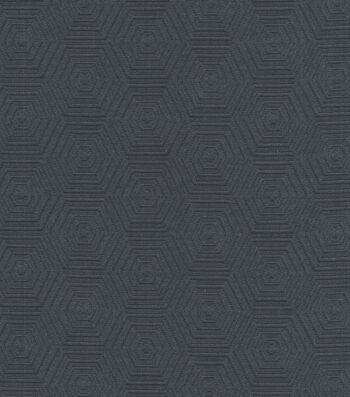 """HGTV Home Upholstery Fabric 57""""-Hex Appeal Zinc"""
